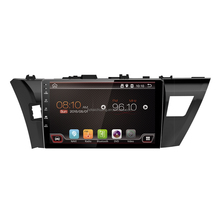 10.1 inch Android 6.0 Car Radio Toyota Corolla support GPS Colorful LED SWC and more functions