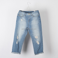 Men's jeans wholesale prices low classic washed denim pants men's fashion jeans