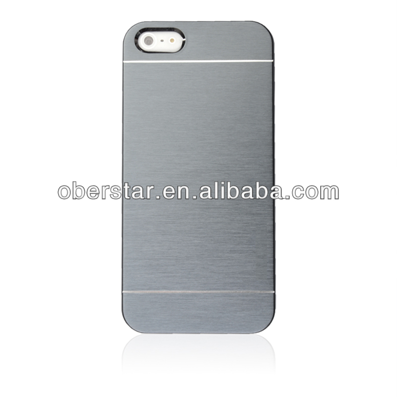 New Stylish Full Body Chrome Cover Hard Case For Apple ipone 5