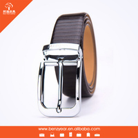 Hot Selling European Style Alloy Pin Buckle Leather Cheap Men waist Belt