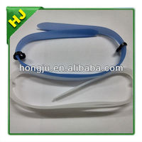 Silicone Diving and Swimming Goggles with Adjustable Band
