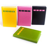 Hot stamping thermal PU binding notebook with custom logo