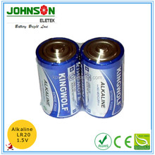high capacity 1.5v alkaline dry cell battery LR20 D manufacture led lights