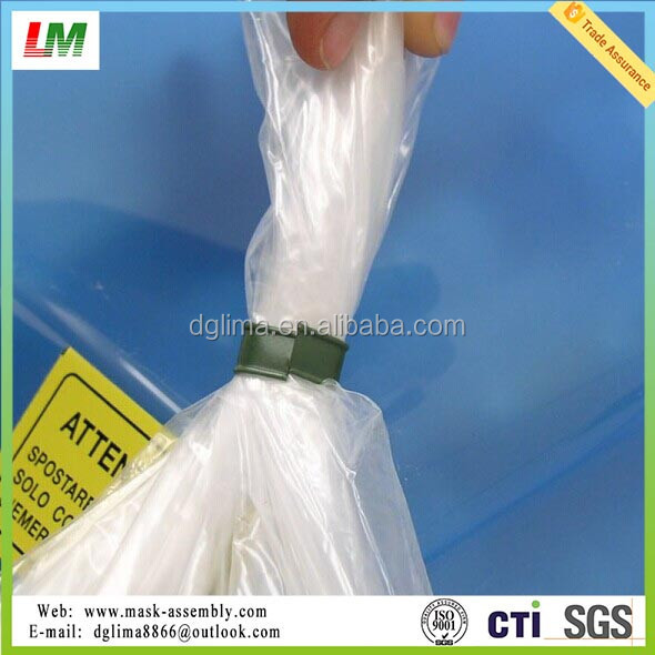 Double Wire Bread Bag Plastic Twist Ties - Buy Bread Bag Twist Tie ...