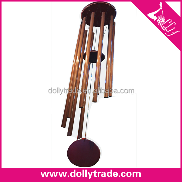 Creditable Partner Good Quality Bronze Color Windchime Wind Chimes