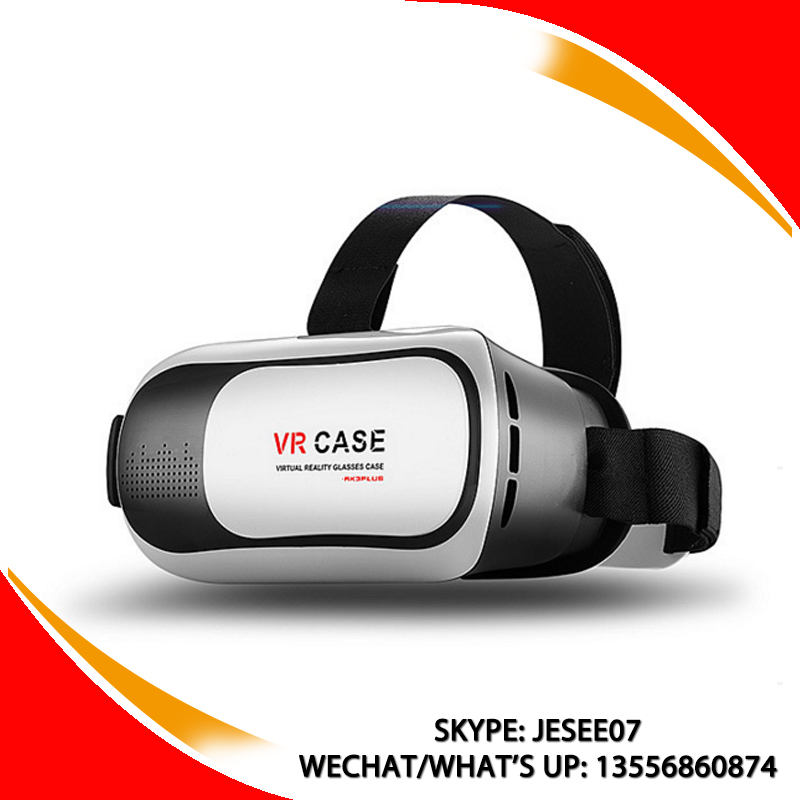 New technology vr box Distance Adjustable virtual reality goggles 3D Glasses blue film video video blue film china