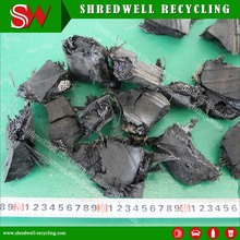 TDF Tire Recycling Plant Produce Rubber Chips As Alternative Fuel From Scrap Tyre