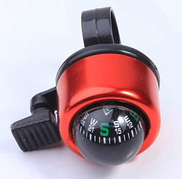 New design Bicycle Bell Road Mountain bicycle ring Bell with Compass Bicycle Horn