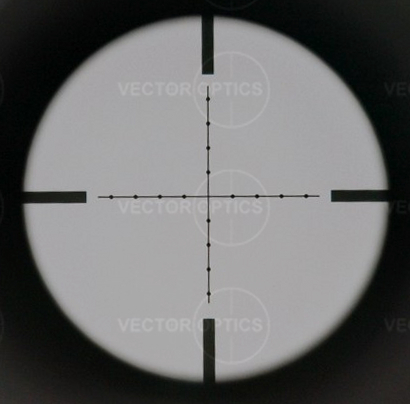 Vector Optics Counterpunch 6-25x 56mm FFP Sniper Shooting Riflescope Mildot Reticle with Tactical Mount Ring 1/4 MOA Click
