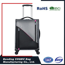100% polyester fashional external waterproof luggage