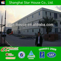 low cost modern prefabricated container house for temporary dormitory