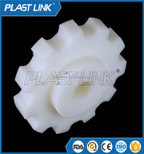 double plastic sprocket chain wheel for gravity conveyor roller