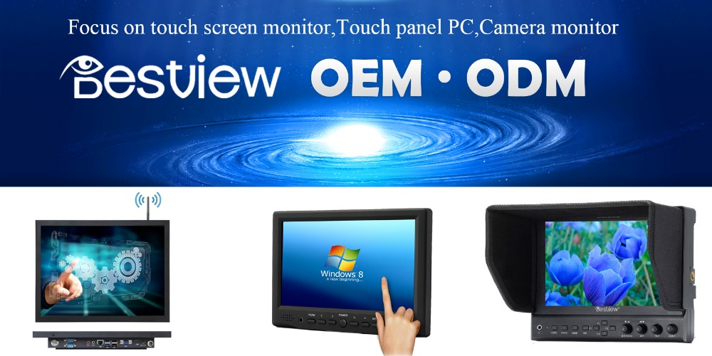 "IPS Screen 9.7"" / 10 inch Cheap touch screen monitor with HDMI"