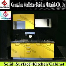 Newest commercial wooden kitchen cabinet WS-KC212