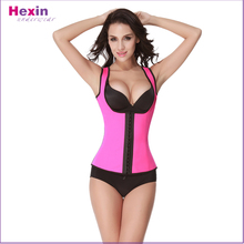 Body Slimming Sport Latex Rubber Waist Trainer Cincher Vest