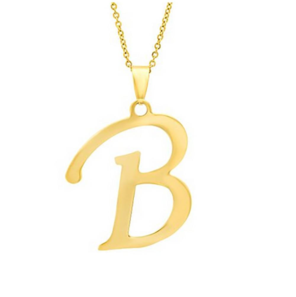 18K Gold Plated Custom Personalized Jewelry Letter A-Z <strong>Necklace</strong> Name <strong>Necklace</strong>