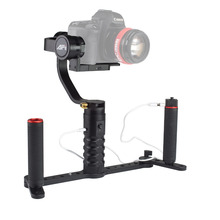AFI cheap 3 axis handheld brushless steadycam camera gimbal stabilizer VS-3SD With Dual Grip Set