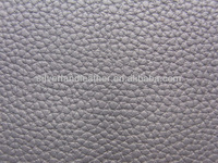 Lychee soft PU leather chair covers material.