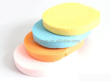 2015 Best Selling Natural Cellulose Facial Sponge/ cleaning Magic sponge
