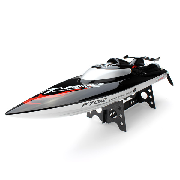 New FT012 2.4G Brushless RC Racing Boat RTR Speedboat Upgraded FT009 Free shipping