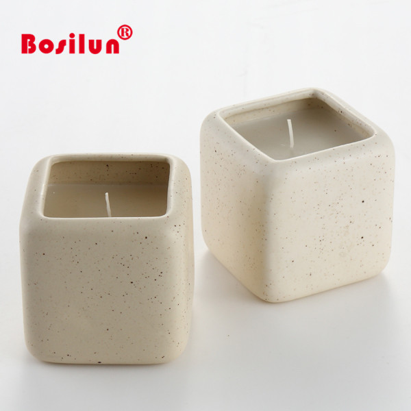 Wedding Table Centerpieces Ceramic Square Tea Light Votive Candle Holder