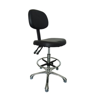 durable polyurethane laboratory cleanroom ESD chair