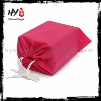 packaging bags for shoes, nonwoven drawstring bag, shoe carrier bag