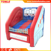 Commercial inflatable Mini Hoop Shot game for sale