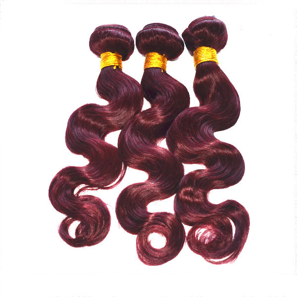 new hair styles lowest price tangle shedding free color 99j brazilian hair