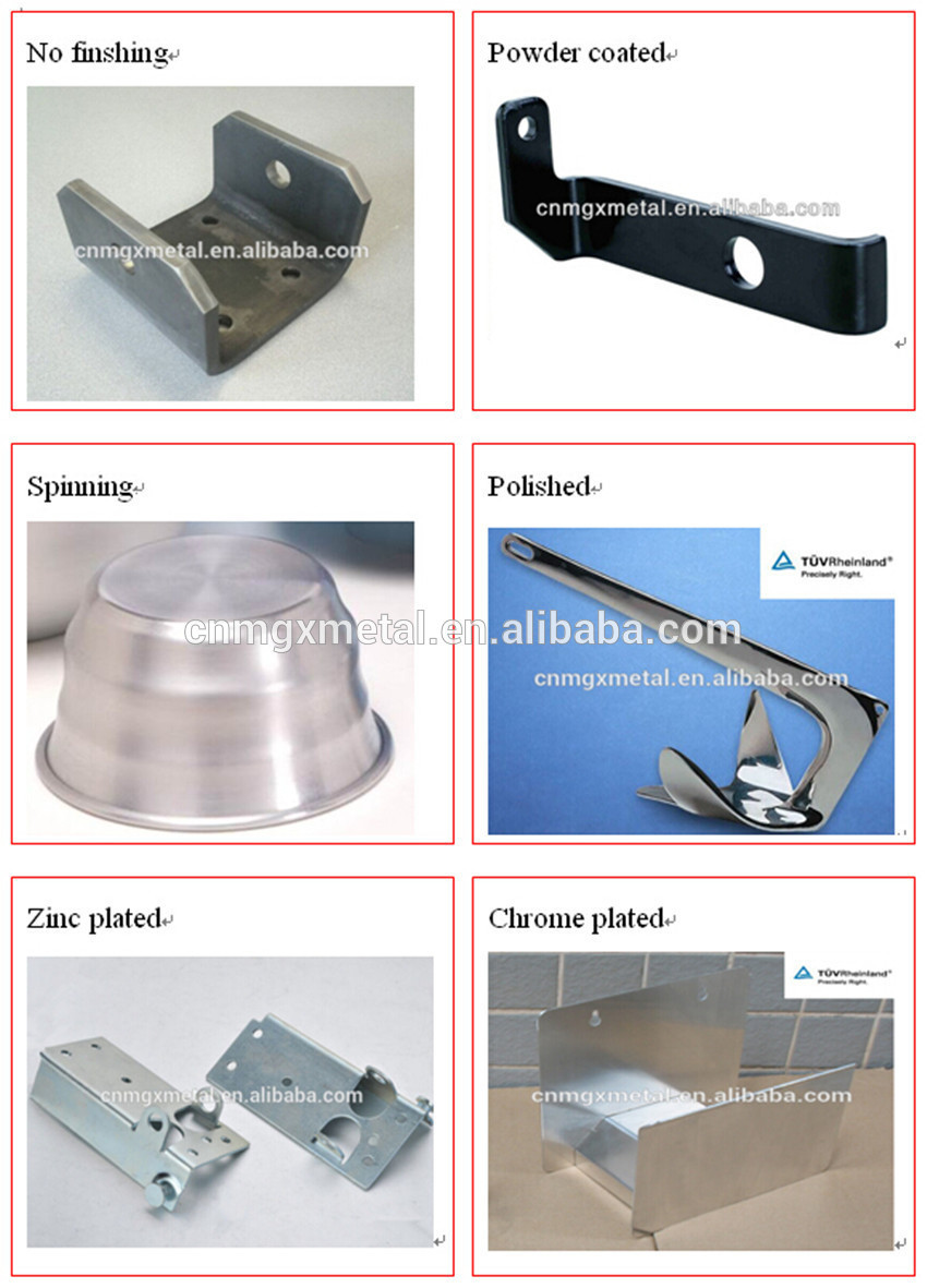 High Quality aluminum base plate fence part