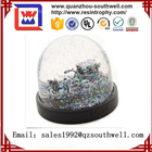 2017 New product resin snow globe resin craft for gift