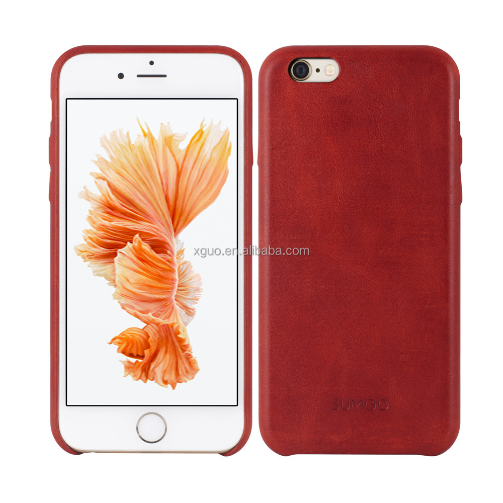 smart phone for iphone 6 case,genuine leather case for iphone 6