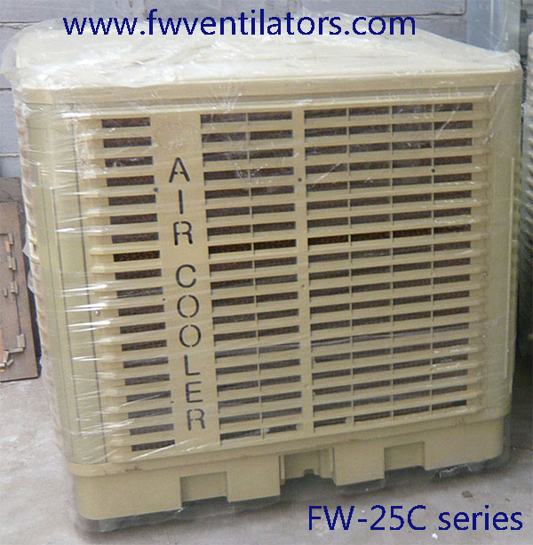 FW 30000m3/h industrial evaporative air conditioning equipment