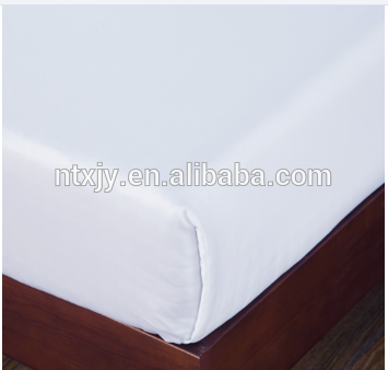 Brand new set white bed sheet to hospital manufactured in China