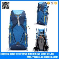 China factory waterproof backpack for sport and travel 55l hiking backpack bag backpack cover