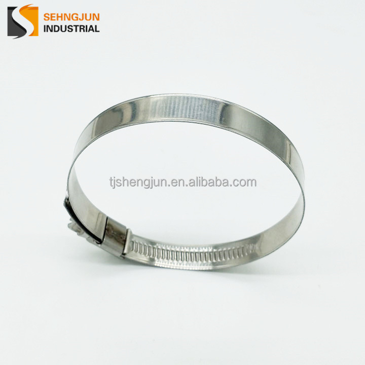 Hot sale hydraulic stainless steel germany type hose clamps