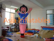 Giant inflatable lighting cartoon for advertisng