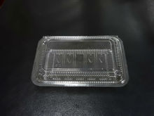 disposable plastic fruit vegetables packing container
