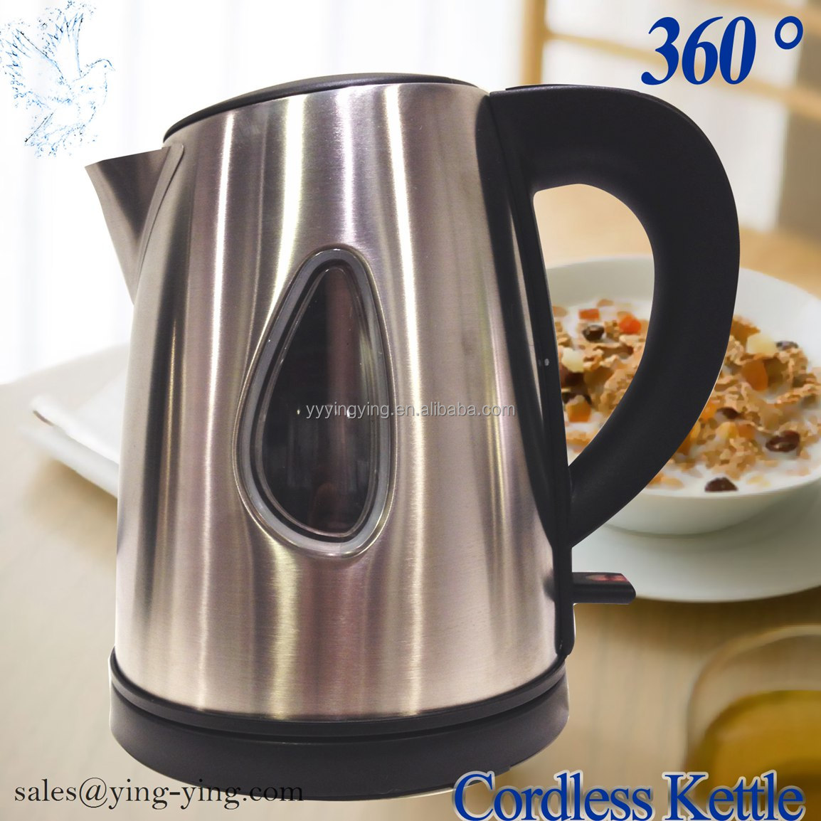 Stainless Steel Electric Kettle 1 L Best quality -NEW