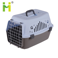 Outdoor airline approved plastic pet carrier