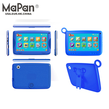 OEM Cheapest 7inch Quad-core Capacitive Touch Screen Children Tablet PC silicone protective case for kids tablet pc