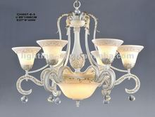 2012 Iron Chandeliers,crystal,CH007-6-3
