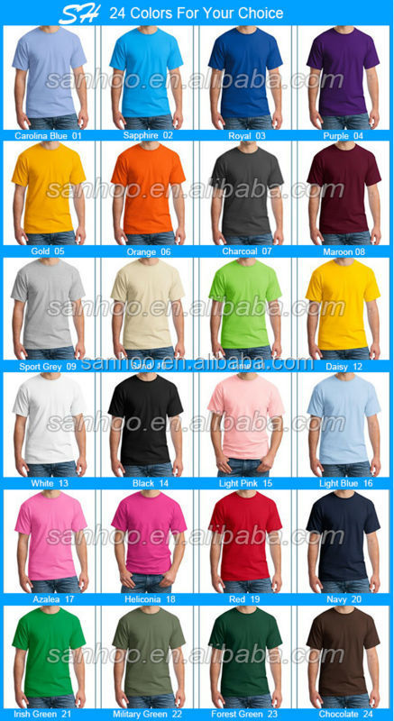 95% Cotton 5% Elastane Men Dry Fit T-Shirt Screen Printing With Custom Logo China OEM