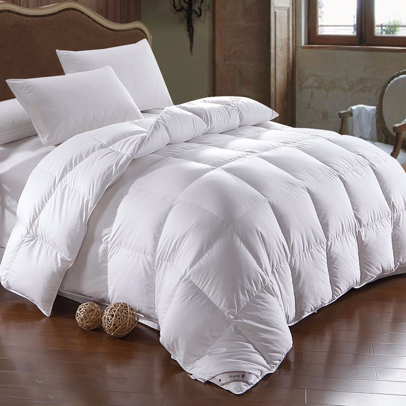 High Quality Hotel Goose Feather Down Filling Duvet Alternative Duvet