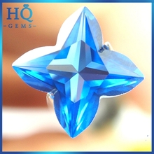 Factory Manufacturer Tetragon Spinel Synthetic Blue Sapphire