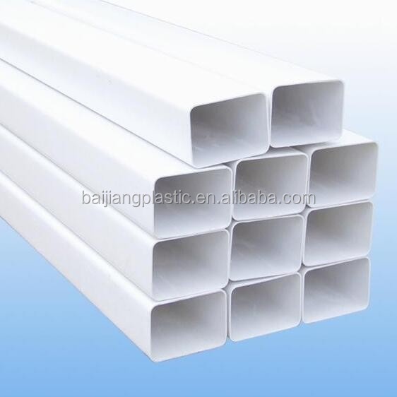 High Quality Hydroponics 6'' PVC Square Pipe