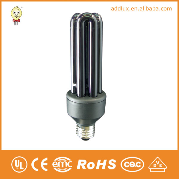 Black Tube 380V Outdoor 11W 26W Compact Fluorescent Bulbs