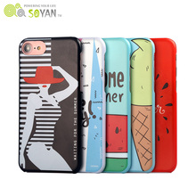 Clear Luxury Phone Case For Iphone 7 Phone Case,Animal Sex Girl Free Sample Mobile Cell Phone Case For Iphone 6