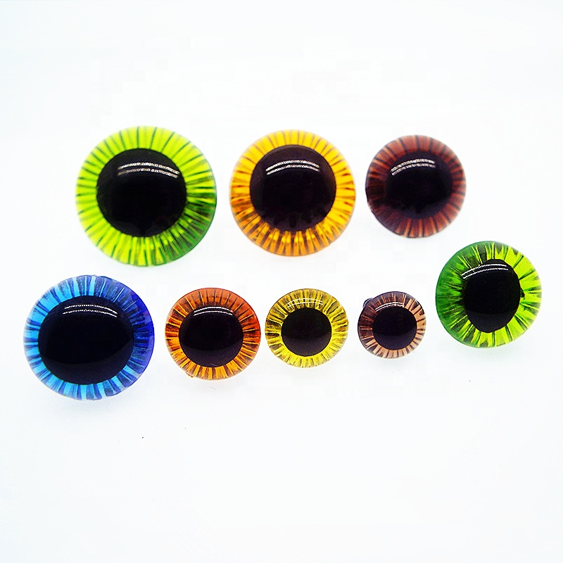 12mm Special Dragon Monstar <strong>Eyes</strong> Owl Cut Safety <strong>Eyes</strong> Plastic Plush Animal Doll Buttons