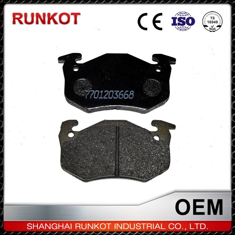 Shanghai Supplier Car Accessories Brake Pads And Rotors Specials